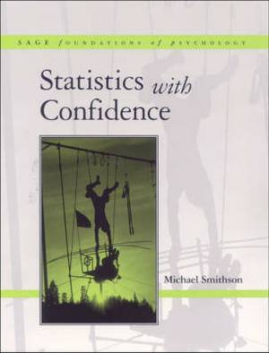 Statistics with Confidence: An Introduction for Psychologists