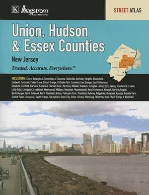 Union, Hudson & Essex Counties, New Jersey: Street Atlas