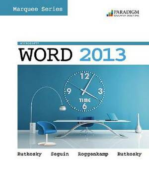 Marquee Series: Microsoft (R)Word 2013: Text with data files CD