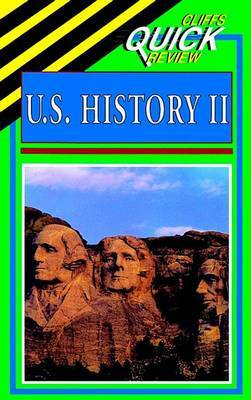 Cliffsquickreview: United States History II: 2