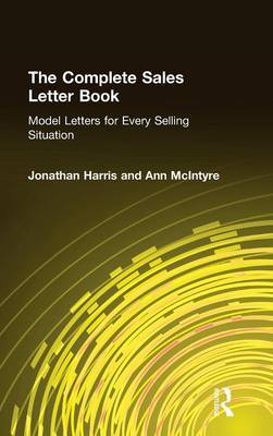 Complete Sales Letter Book: Model Letters for Every Selling Situation