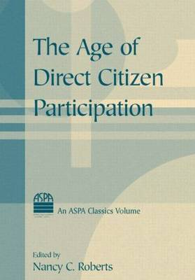 The Age of Direct Citizen Participation