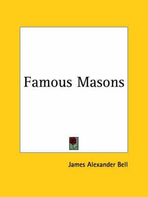 Famous Masons (1928)
