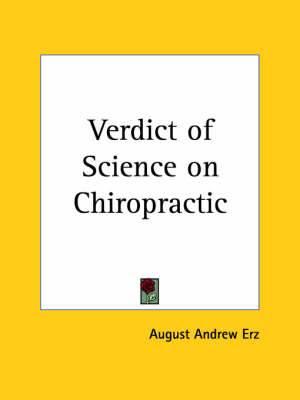 Verdict of Science on Chiropractic (1925)