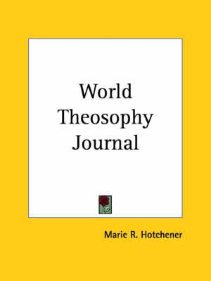 World Theosophy Journal