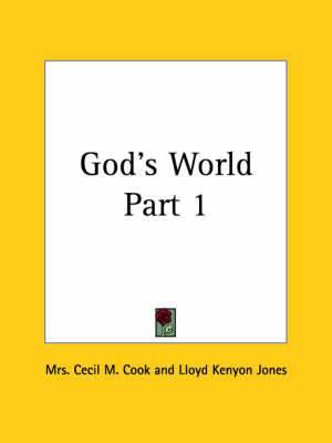 God's World Vol. 1 (1919): v. 1