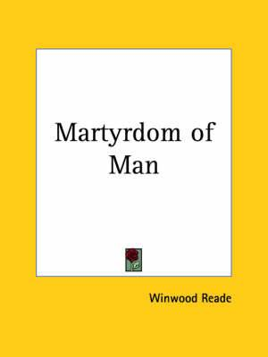 The Martrydom of Man (1923)