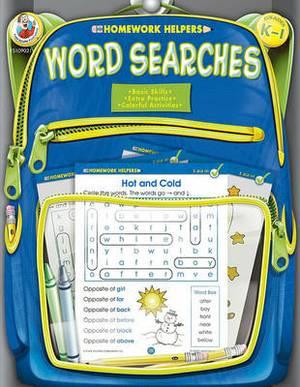 Word Searches, Homework Helpers, Grades K-1