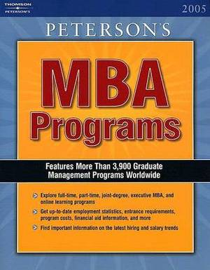 The Guide to MBA Programs: 2005