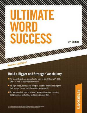 Ultimate Word Success: With Flash Cards; Build a Bigger and Better Vovabulary