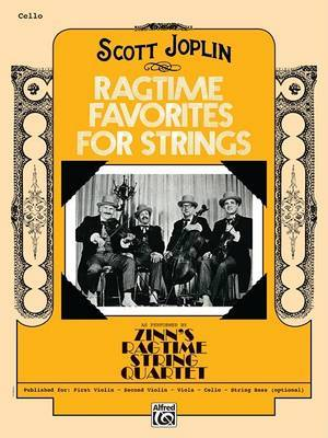 Ragtime Favorites for Strings: Cello