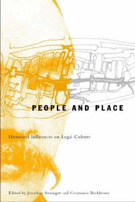 People and Place: Historical Influences on Legal Culture