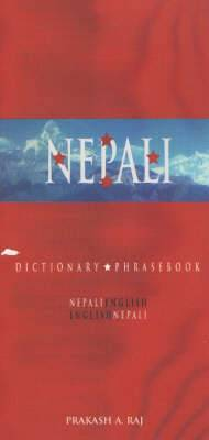 Nepali-English / English-Nepali Dictionary & Phrasebook