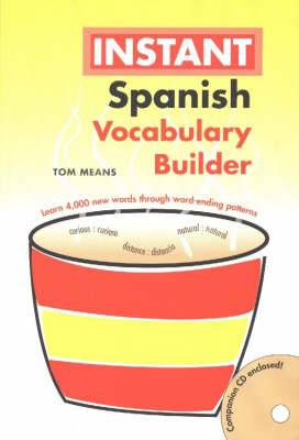 Instant Spanish Vocabulary Builder