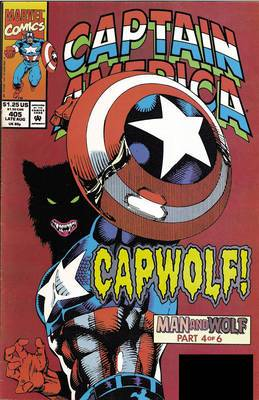 Captain America: Captain America: Man & Wolf Man & Wolf