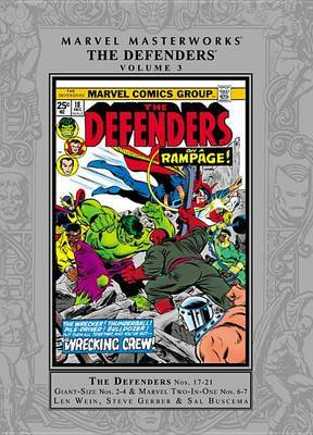 Marvel Masterworks: Vol. 3: Marvel Masterworks: The Defenders - Vol. 3 Defenders