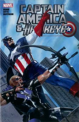 Captain America and Hawkeye
