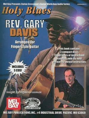 Holy Blues of Rev. Gary Davis: Arranged for Fingerstyle Guitar