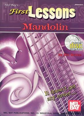 First Lessons Mandolin Book/CD Set