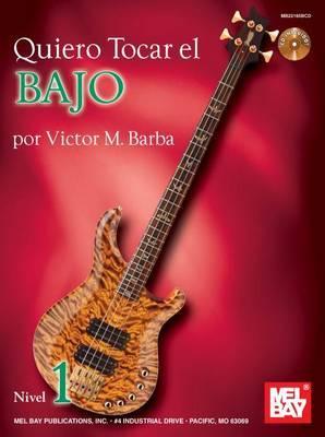 Quiero Tocar El Bajo Book/CD Set