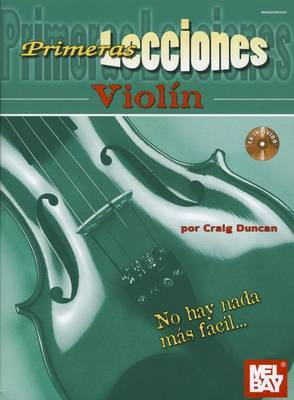 First Lessons Violin, Spanish Edition Book/CD Set