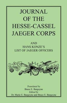 Journal of the Hesse-Cassel Jaeger Corps