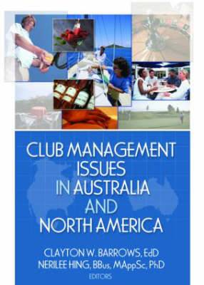 Club Management Issues in Australia and North America