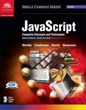 JavaScript: Complete Concepts and Techniques