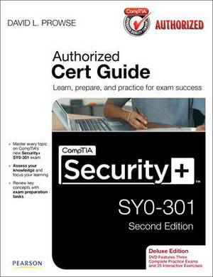 CompTIA Security+ SY0-301cert Guide