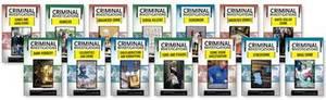 Criminal Investigations Set