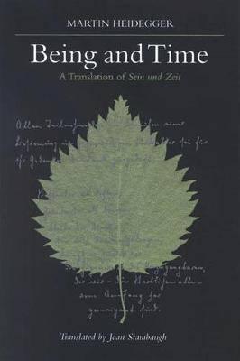 Being and Time: A Translation of Sein und Zeit