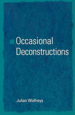 Occasional Deconstructions