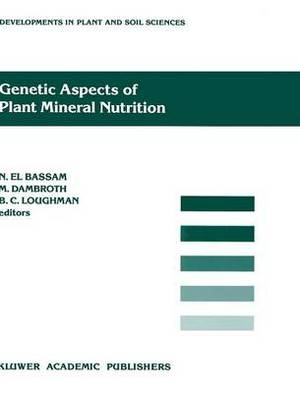 Genetic Aspects of Plant Mineral Nutrition: International Symposium Proceedings: 3rd