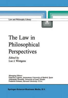 The Law in Philosophical Perspectives: My Philosophy of Law
