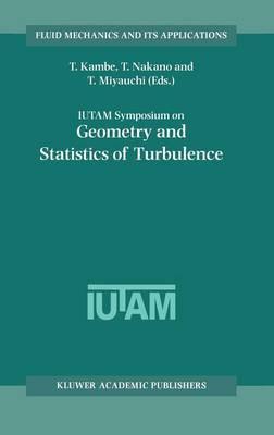 IUTAM Symposium on Geometry and Statistics of Turbulence: Proceedings of the IUTAM Symposium Held at the Shonan International Village Center, Hayama (Kanagawa-ken), Japan, November 1-5, 1999