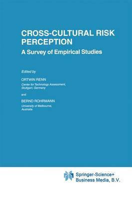 Cross-Cultural Risk Perception: A Survey of Empirical Studies