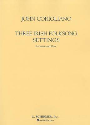 Three Irish Folksong Settings for Voice and Flute
