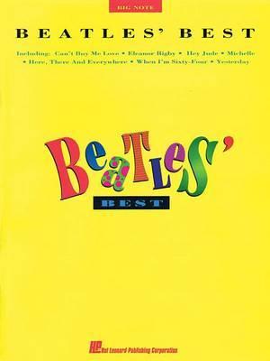 Beatles Best (Big Note Piano)