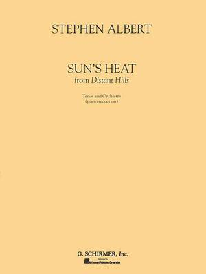 Sun's Heat: From Distant Hills: Tenor and Orchestra (Piano Reduction)