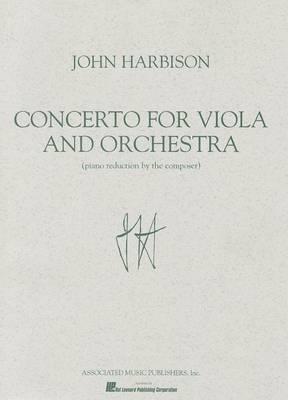 Concerto for Viola & Orchestra  : Piano Reduction