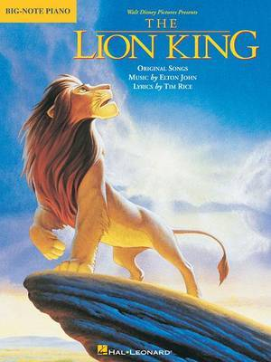 The Lion King: Big-Note Piano