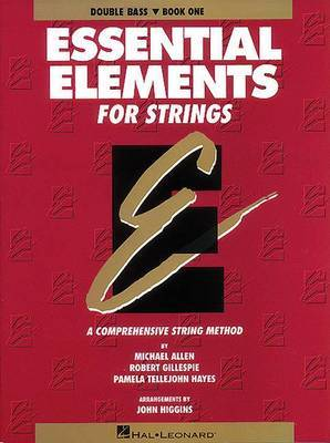 Essential Elements for Strings: Double Bass, Book 1