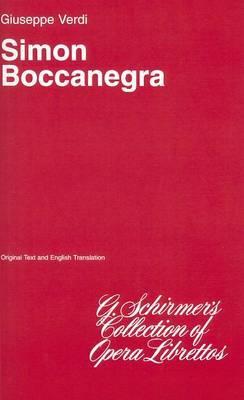 Simon Boccanegra: Sheet Music