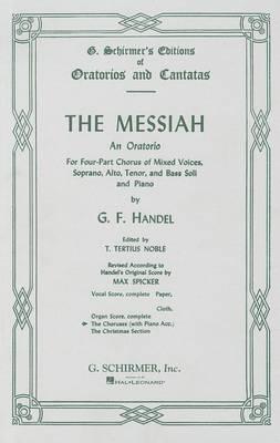 The Messiah: Chorus Parts - Piano