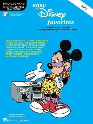Easy Disney Favorites For Flute (Book/Online Audio)
