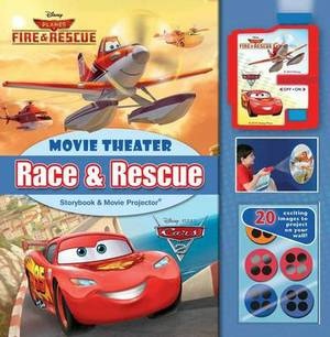 Race & Rescue Movie Theater Storybook & Movie Projector