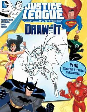 DC Justice League: Draw It