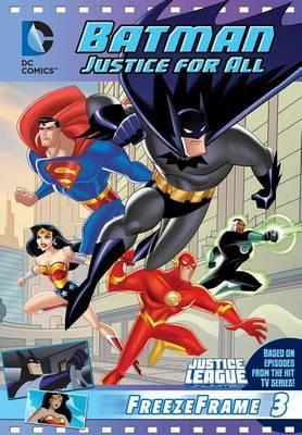 DC Justice League: Batman Justice for All: Freeze Frame #3