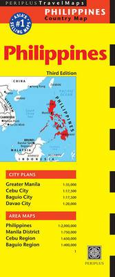 Philippines Periplus Travel Map
