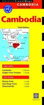 Cambodia Periplus Map